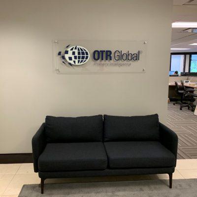 OTR Global Mounted print