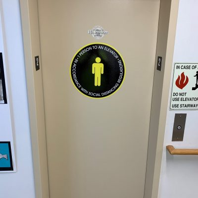 Follow regulations for ADA signs while maintaining your branding.