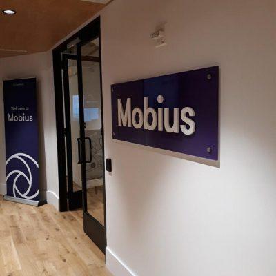 Mounted Mobius Logo