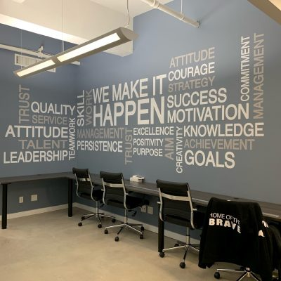 office wall graphics Street Style Sign Studio