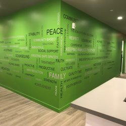 office murals and wall graphivs